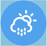 meteo prévisions temps température alerte application mobile mairie ville commune votreappli.fr